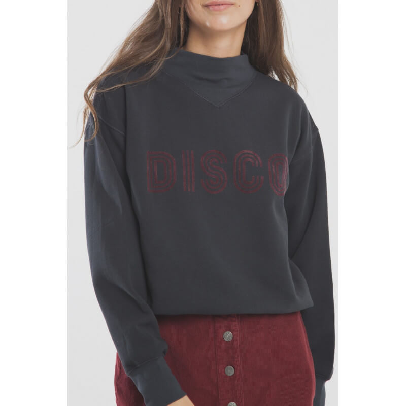 """Disco"" high neck fleece..."