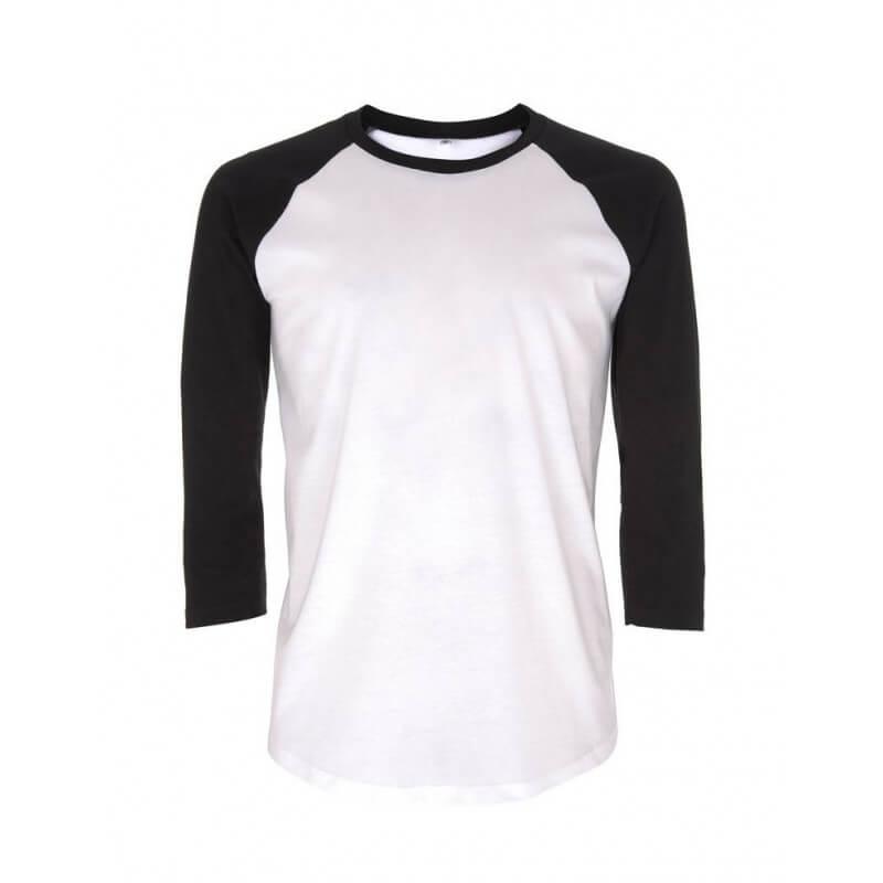 T-shirt baseball en coton...
