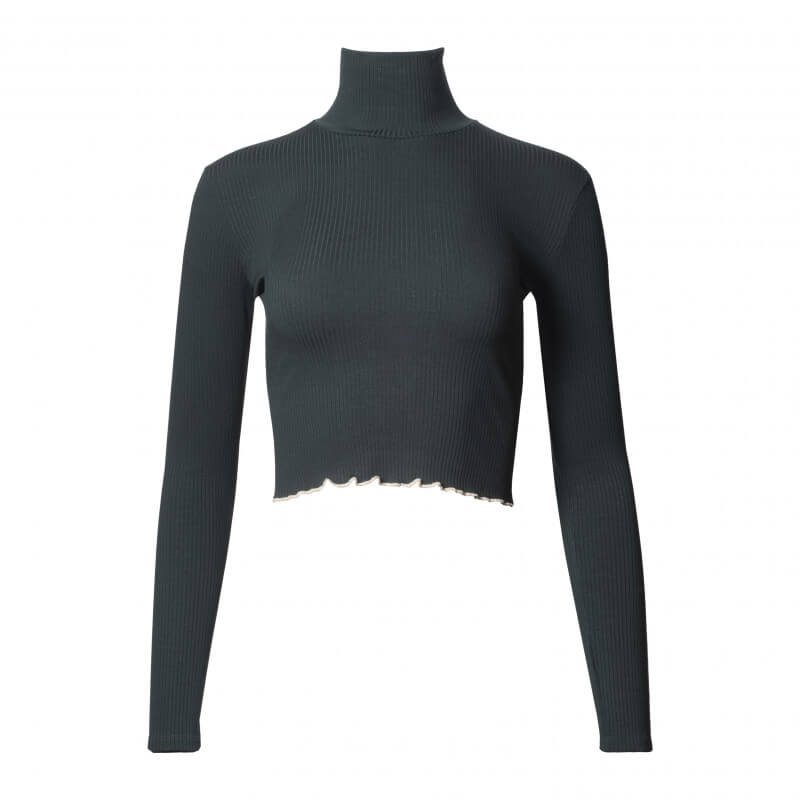 """Ellen Rib"" long-sleeved..."