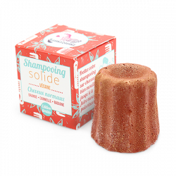 Shampoing solide orange cannelle