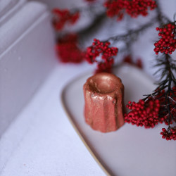 Shampoing solide de Noël et paillettes minérales
