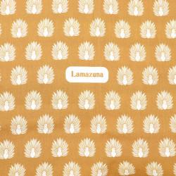 Des motifs de paons dorés pour vos cadeaux zéro déchet !