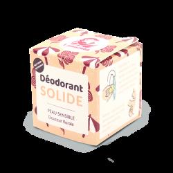 Packaging déodorant peau sensible floral