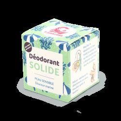 Packaging déodorant solide peau sensible parfum marin