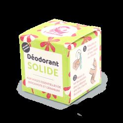 Packaging déodorant solide Lamazuna bergamote