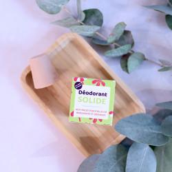 Déodorant solide bergamote Lamazuna zéro déchet et fabriqué en France