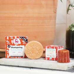Shampoing solide nouveau format pour plus de mousse