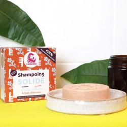 Shampoing solide pour cheveux normaux qui nourrit