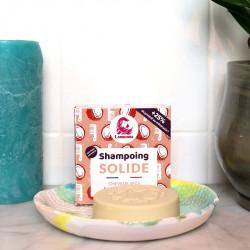 Shampoing solide pour cheveux secs zéro déchet et végane