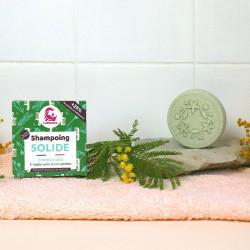 Shampoing solide spiruline et argile verte