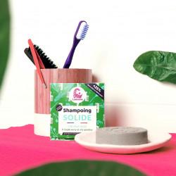 Shampoing spiruline et argile verte pour cheveux gras