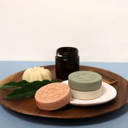 Nouveau format shampoings solides sans huile essentielle