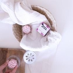 Beurre de cacao rose végane