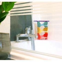 Organisateurs adaptables à toutes les salles de bain