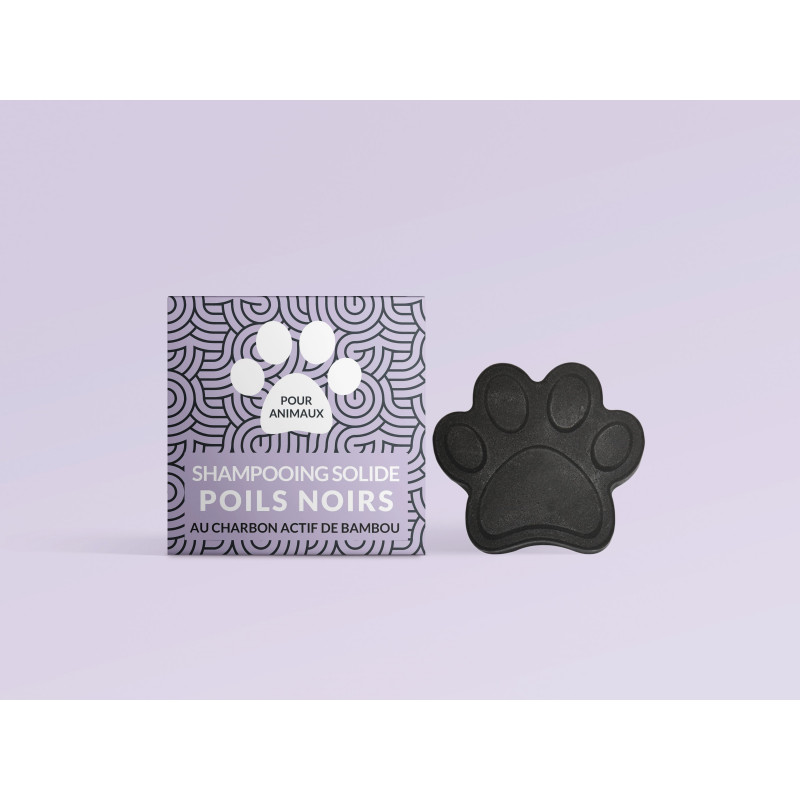 Solid shampoo for dogs with...