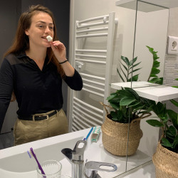 Dentifrice à grignoter naturel et fabriqué en France