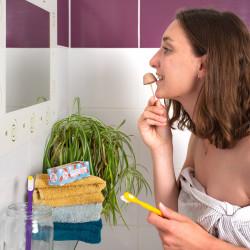 Dentifrice à grignoter Lamazuna