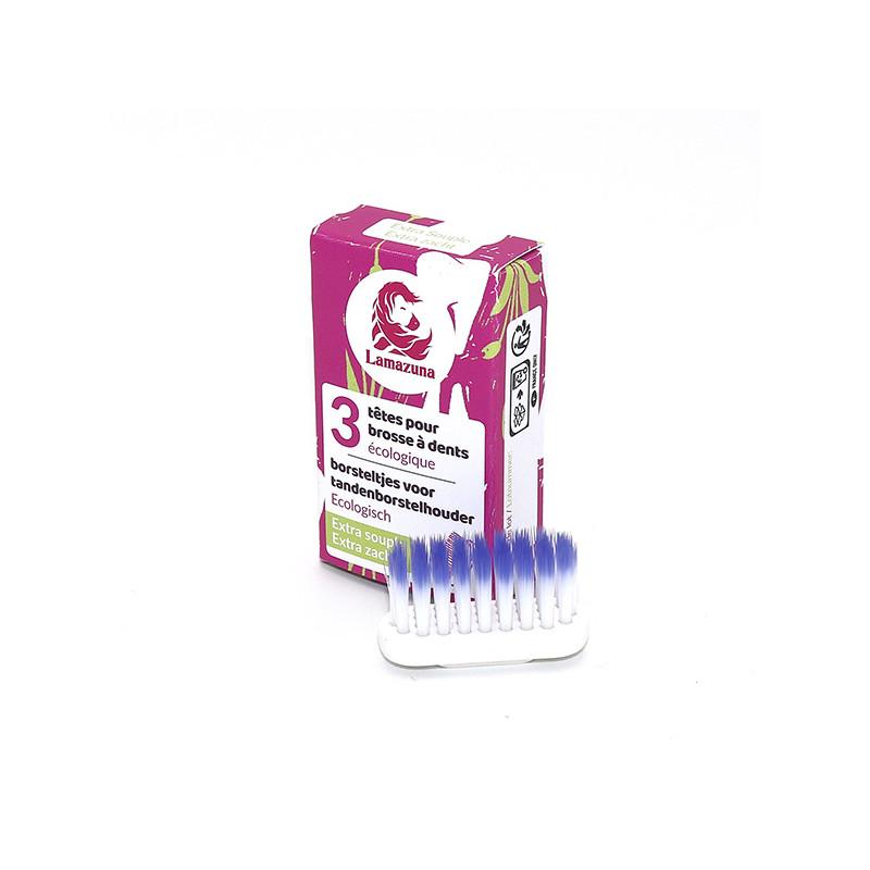 Set of 3 toothbrush heads –...