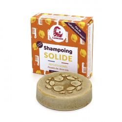 Shampoing solide pour cheveux blonds zéro déchet et d'origine naturelle