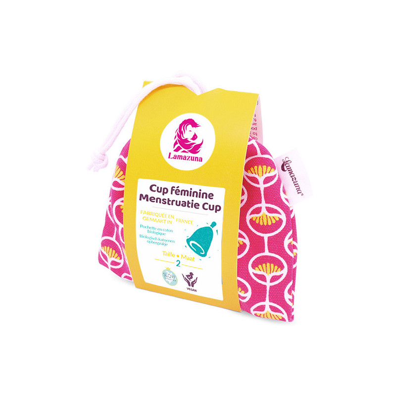 Menstrual cup - Pink pouch