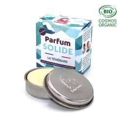 Parfum solide et rechargeable