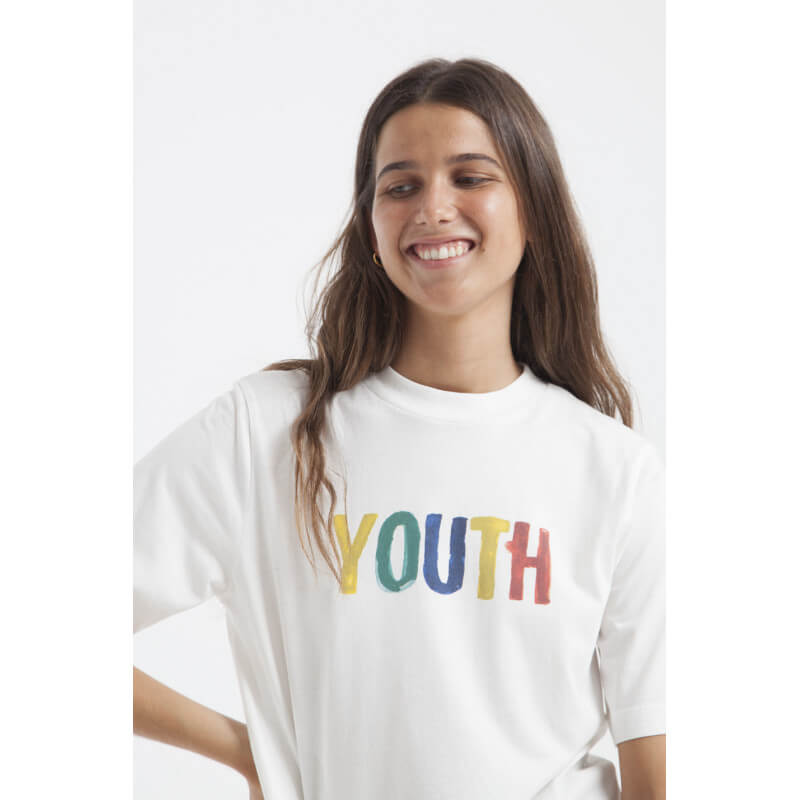 """Youth"" organic cotton shirt"