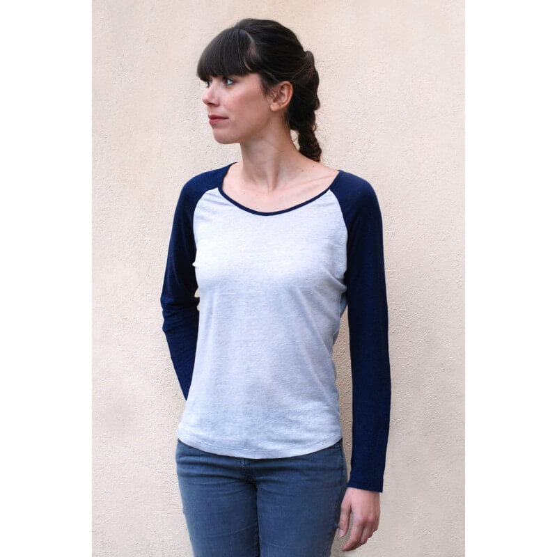 """Bigoût"" linen top"