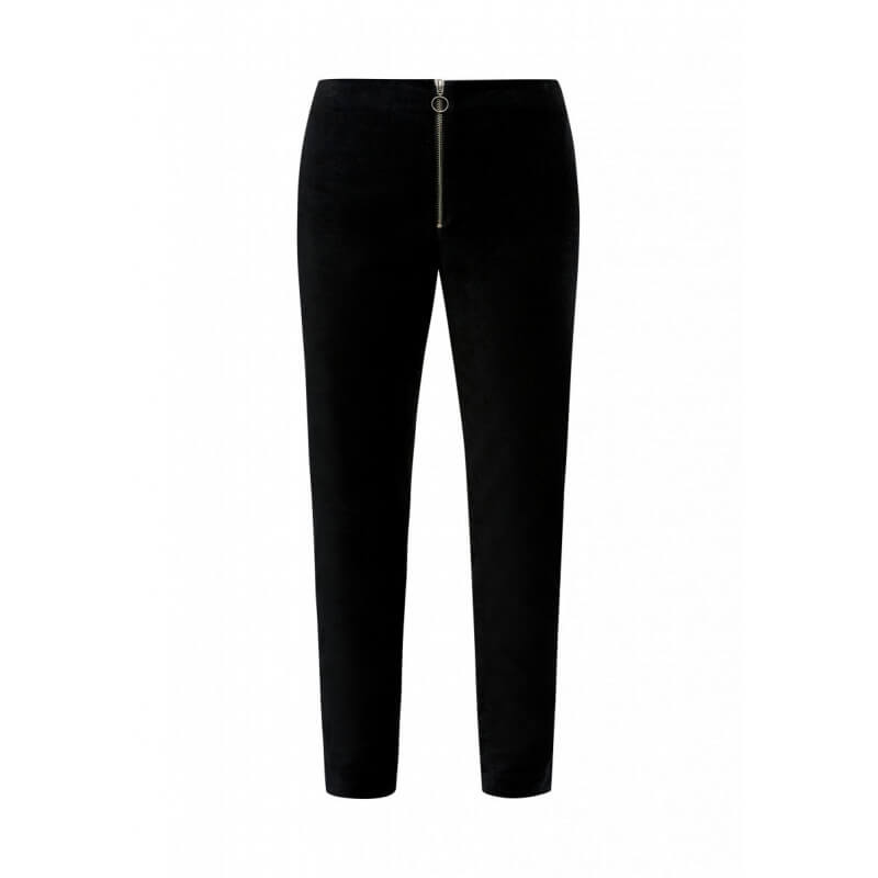 "Pantalon en velours ""Romaine"""
