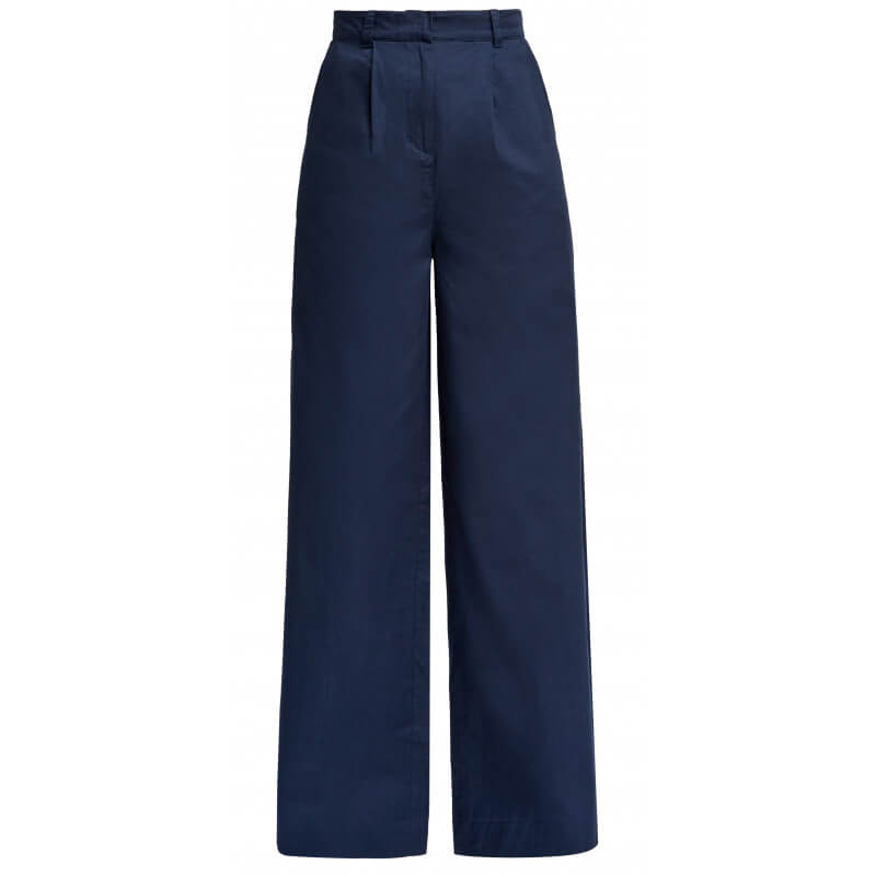Pantalon large en coton bio...