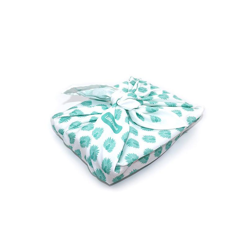 Emballage cadeau zéro déchet en tissu
