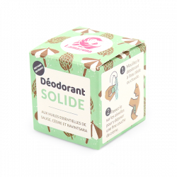 Packaging déodorant solide Lamazuna sauge cèdre ravintsara