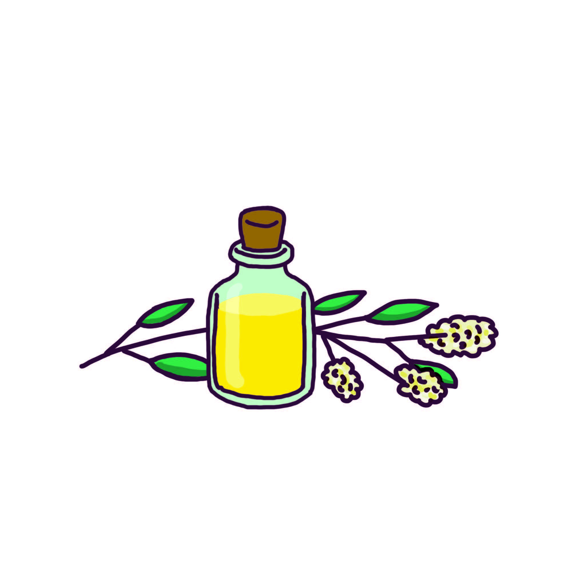 Huile essentielle de listée citronnée