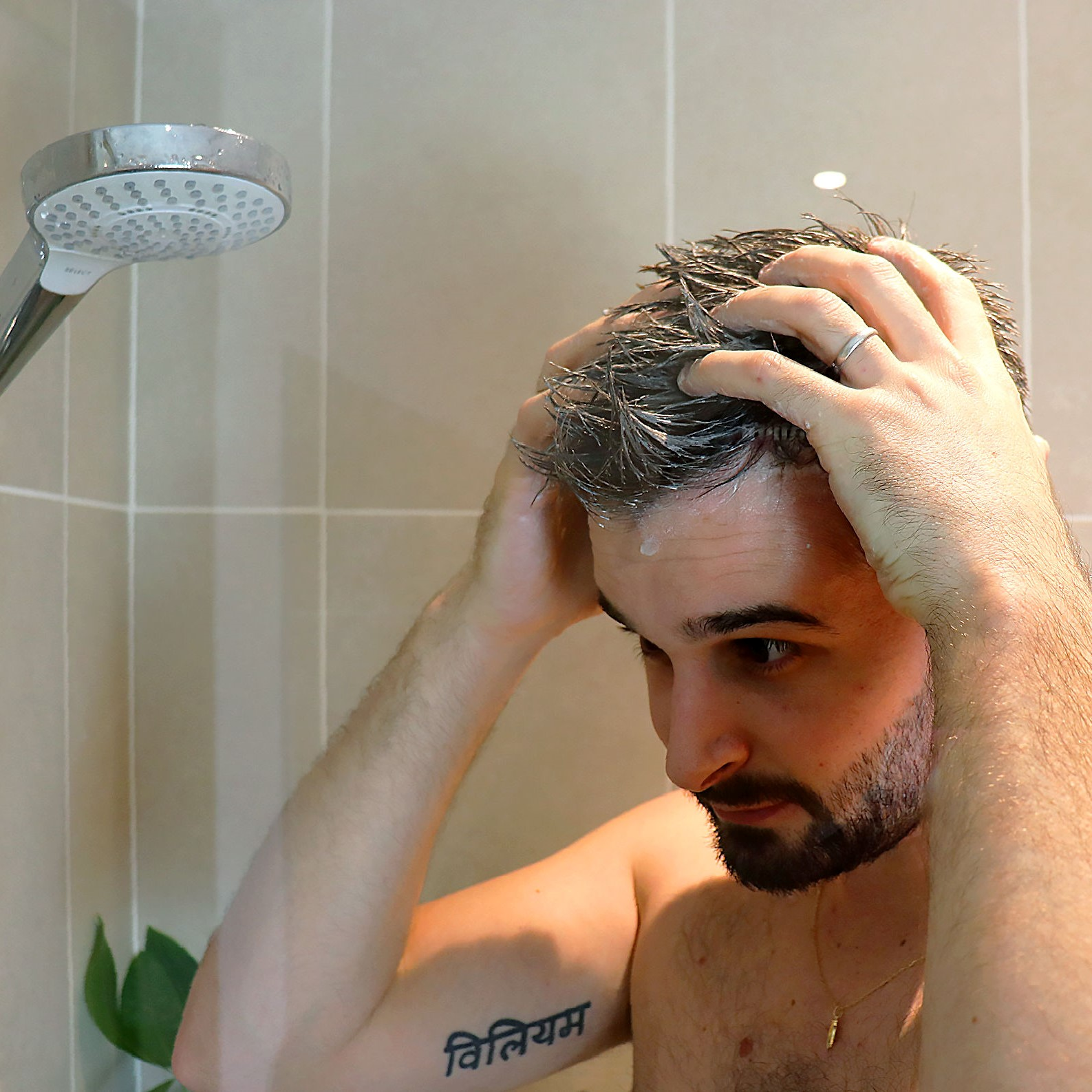 Homme shampoing solide